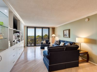 Photo for Updated Ocean Front Condo With Beautiful Private Beach and Bay Views