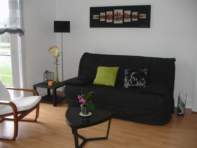 Photo for Apartment in Concarneau, near the sea, 4 persons, recent residence, Wi-Fi