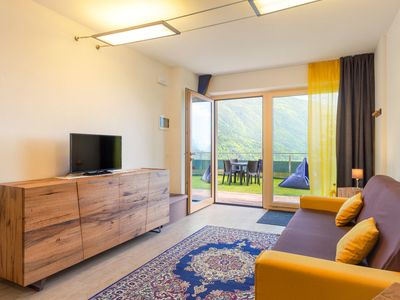 Photo for LODGE overlooking the clear waters of the lake where you mirror the Dolomites