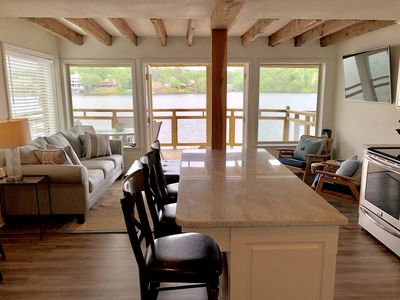 Photo for VINTAGE CONDO WITH A MODERN TOUCH!  BOAT DOCK!
