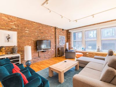 Photo for Great modern keyed elevator apartment loft in the heart of Noho