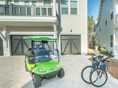 Photo for 4 Seater Golf Cart ~ 2 Bikes! ~ Resort Pool ~ Close to Hub! 'Beach Retreat' at Prominence North 30A