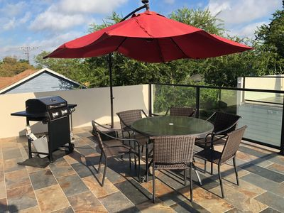 Photo for Brand new terraced home near Alamo Dome & Convention Center + BBQ!