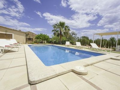 Photo for Mallorcan finca with appealing outdoor area and large pool