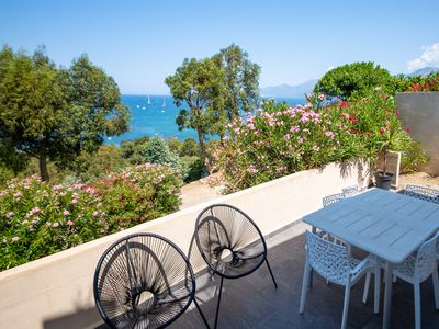 Photo for NEW APARTMENT WITH MAGNIFICENT BAY SAINT FLORENT
