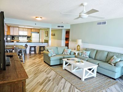 Photo for Watercrest 509, 2 Bedroom/2 Bathroom Beach front Condominium, Great Amenities