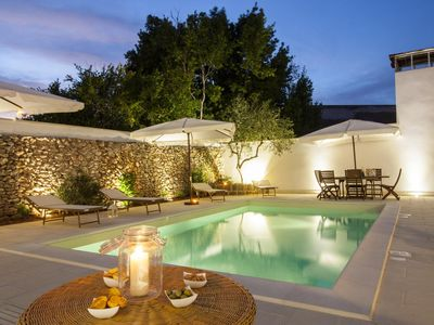 Photo for Luxury Courtyard Studio apartment in Racale with WiFi, shared terrace & shared garden.