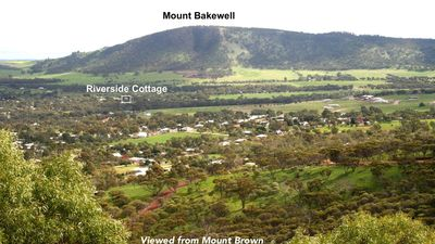 View from Mount Brown to Mount Bakewell