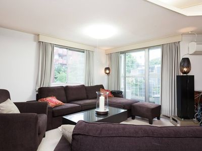 Photo for 2 BR Akasaka Apartment, KING and QUEEN Beds, plus SOFA Bed!