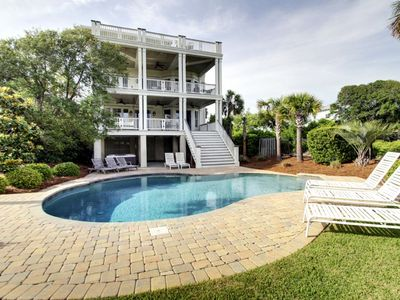 Incredible Second Row Home w/views, Infinity Pool, & Hot Tub!  Exquisite 6BR Home on IOP! $250 Be...