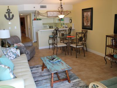 Photo for Clearwater 1C - Beautiful Beachfront Views! Recently remodeled & brand new fridge!