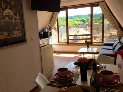 Photo for 1BR Apartment Vacation Rental in Sarlat-la-Canéda, Nouvelle-Aquitaine