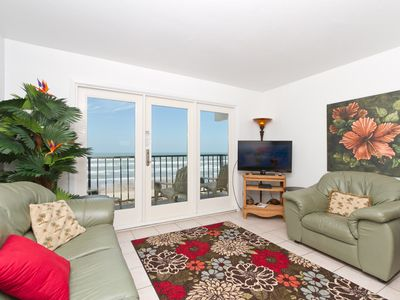 Photo for Florence I 407 - You Won't Believe the Incredible Ocean Views from this Condo's Private Balcony!!