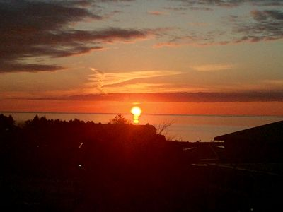 Photo for SUNSET GLORY -Best Views Of The Bay In Downtown Petoskey - Where You Want To Be!