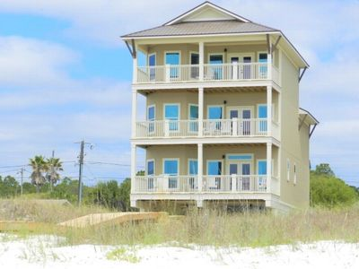 Photo for New Luxury 5BR Beachfront Home w/ Elevator, Master Suite, Views from all rooms