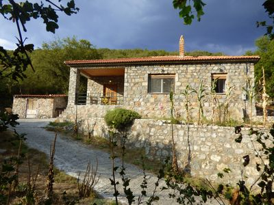 """Photo for """"Taygetos"""" Relaxing stone cottage"""
