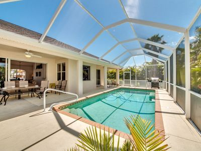 Photo for Pet-friendly Fenced in Yard with Heated Pool- Villa Eagle View - Cape Coral