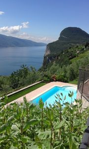 Photo for Lake Garda villa with exclusive pool