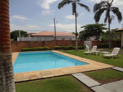 Photo for Beautiful single storey house with pool and barbecue - 200m beach - Space and comfort