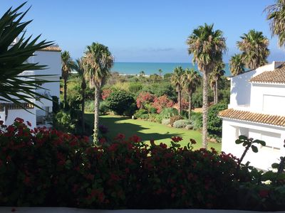 Photo for BEAUTIFUL PENTHOUSE 2 BEDROOMS, 2 BATHROOMS, SEA VIEW, COSTA BALLENA GOLF, ROUTE, CÁDIZ