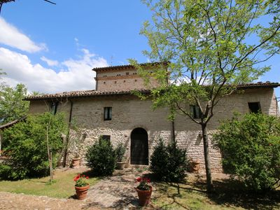 Photo for Estate with pool, at walking distance from Cagli and near a river