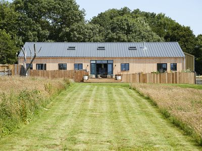 Photo for A contemporary barn conversion in an Area of Outstanding Natural Beauty.