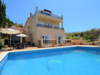Photo for Saona Villas: Lloret de Mar, villa 8 people, 1.5 km beach and private pool