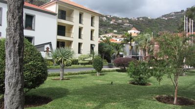 Photo for 2 bedroom apartment 100 meters from the beach overlooking the Municipal Gardens