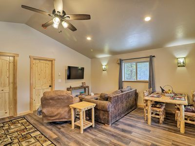 Photo for NEW! Cozy 'Grinnell' Cabin-Mins from West Glacier!