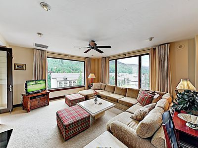 Living Room - Welcome to Vail! This condo is professionally managed by TurnKey Vacation Rentals.