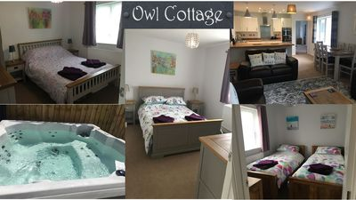Photo for Owl Cottage immaculate fresh bungalow, in the charming Cornish town Camelford.