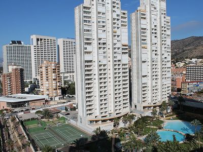 Photo for Apartment 922 m from the center of Benidorm with Lift, Parking, Washing machine, Pool (453378)