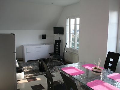 Photo for 2 bedroom Penthouse floor - 300m from the sea
