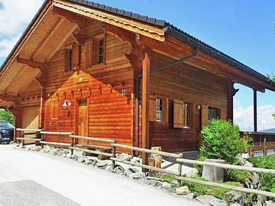 Photo for Comfortable Chalet with View of Alps in Vex