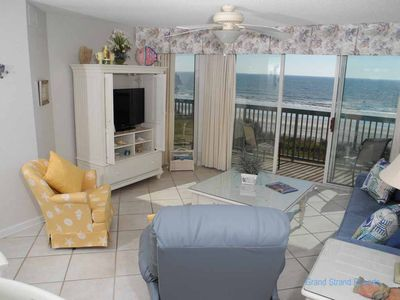 Photo for Ashworth Unit 303! Stunning Ocean Front Condo! Book your get away today!