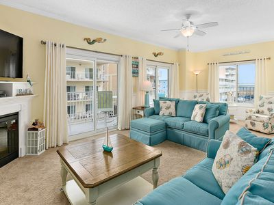Photo for Luxury Condo - Ocean view!  spacious 1,728 sq ft. Sun. to Sun. rentals in summer