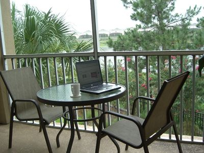 Photo for Luxury Condo with Lake View 1.5 Miles from Disney