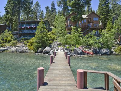Photo for Gorgeous Lake Front High End Home with Private Beach and Pier!