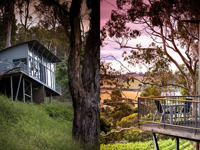 Photo for River Vineyard Retreat secluded sanctuary overlooking vineyard and Tamar Valley