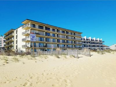 Photo for 3 BR Oceanfront Ocean City beach right outside your door!