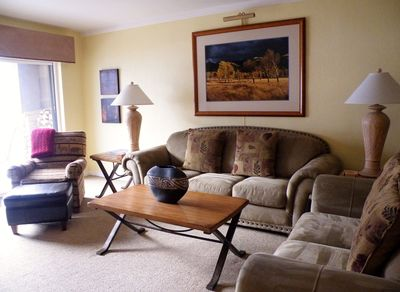Living Room - Attractive, comfortable seating for 6