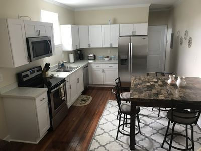 Kitchen and dining table