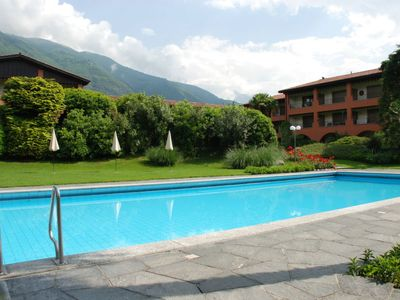 Photo for Ascona Apartment, Sleeps 6 with Pool