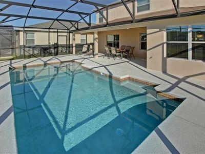 Photo for Family-Friendly Home near Theme Parks w/ WiFi, Pool, Garage, Complex Pool & Gym