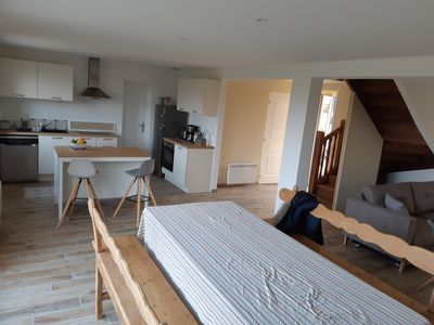 Photo for Sea view cottage (4/6 people) 300 meters from sandy beaches