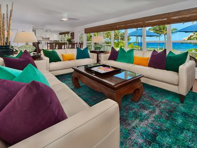 Photo for OCEANFRONT! Wailea Sunset Bungalow