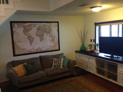 Photo for Clean, comfortable family home 2 miles from A&M campus!