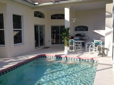 The Private Pool and the patio