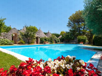 Photo for Luxury Trulli complex with pool & golf course