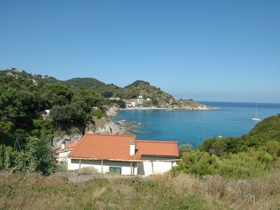 Photo for Villa Cotoncello overlooking the sea, with possibility to discount ferry